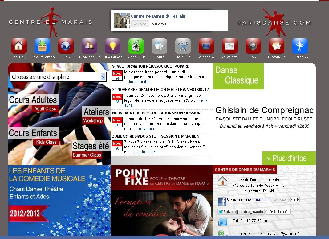 Centre de danse et chant du marais info:06 35 79 60 93 dans Videos centre-de-danse-du-marais-2012