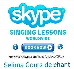 Zoom/Skype/WhatsApp singing lesson